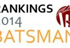batsman ranking2014-01